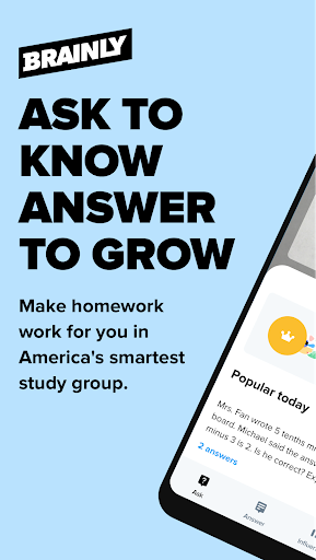 Brainly Homework Help Solver