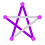 icon 1LINE – One Line with One Touch (1LINE - Uma linha com um toque)