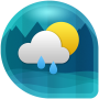 icon Weather & Clock Widget for Android (Air Forecast) (Widget de Tempo e Relógio para Android (Previsão do Ar))