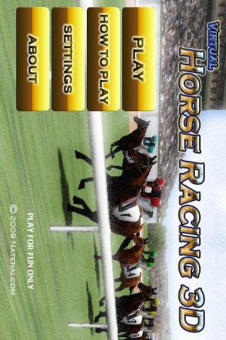 Corrida de Cavalos Virtual 3D