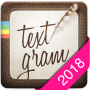 icon Textgram - write on photos (Textgram - escreva em fotos)